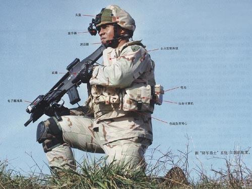 解放军单兵装备不到一万元 单兵装备哪国强