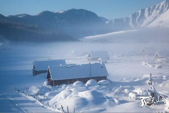 阿勒泰地区/国内数十家旅游网和旅行社推出中国十大最美雪乡,新疆阿勒泰...
