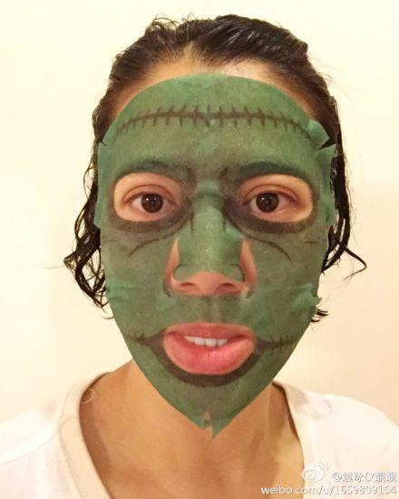 面膜or面具 袁咏仪带你尝鲜比变脸还酷的彩绘面膜