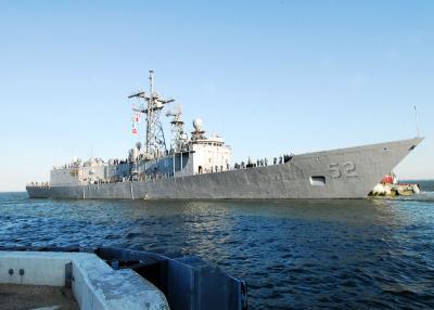 美国参议院通过对台湾出售四艘佩里级巡防舰