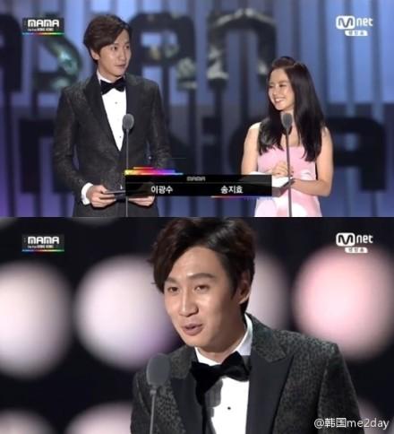 2014MAMA颁奖典礼中获得最高呼声的颁奖嘉宾 2014MAMA亚洲音