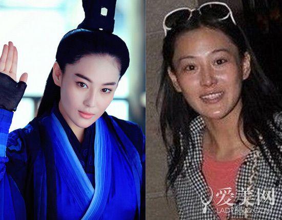 《神雕》女星素颜:陈妍希清纯张馨予似路人