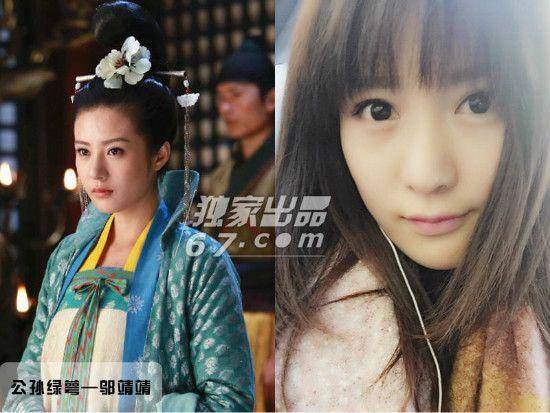 邬倩倩邬靖靖_邬靖靖的姑父是著名导演尤小刚,姑姑是美艳的邬倩倩