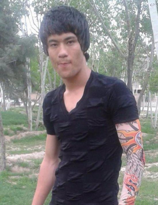 阿富汗小伙酷似李小龙