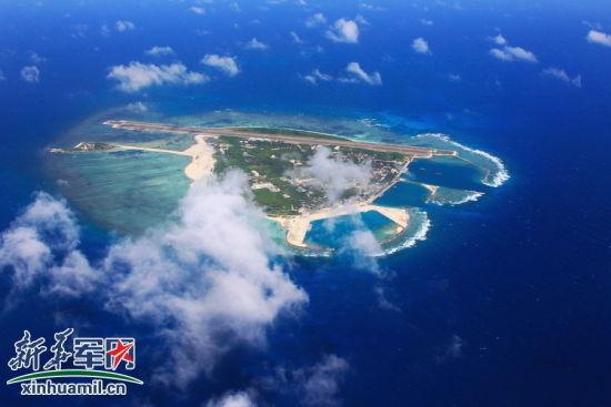 航拍中国西沙岛屿机场 岛上驻军曝光(图)