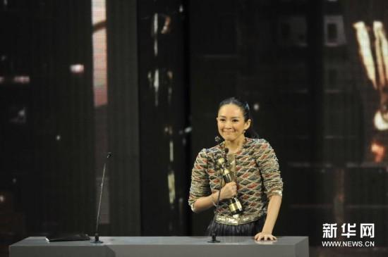 (文化)(7)第33届香港电影金像奖颁奖典礼举行