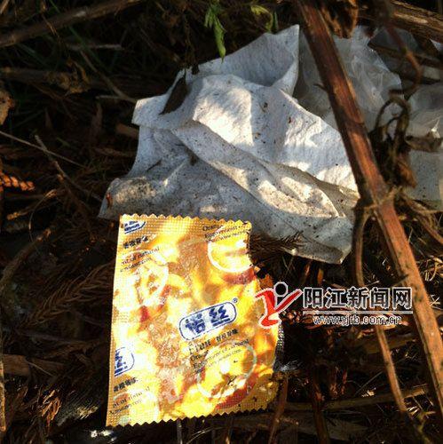 阳江一舞蹈成车震圣地避孕套散满地市民大呼金视频孔雀公园图片