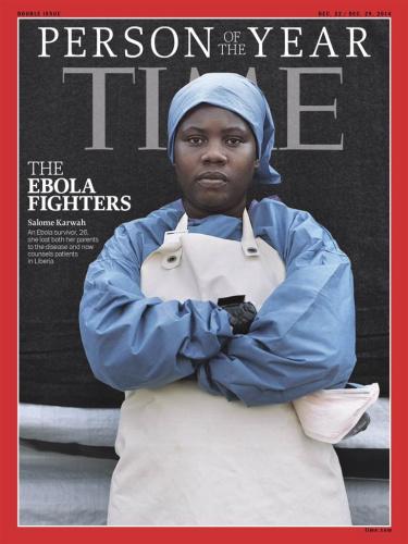 《时代》杂志2014年度人物:埃博拉医护人员