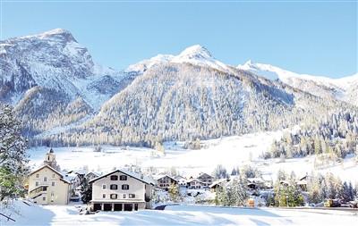 瑞士向中国推销冬季旅游吸引中国游客体验雪场