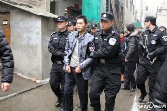 西安邓家村凶杀案嫌疑人落网 为1万多元杀害三人图片 65335 550x366