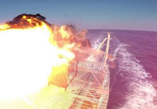 美国海军宣布成功测试激光武器可精确打击目标