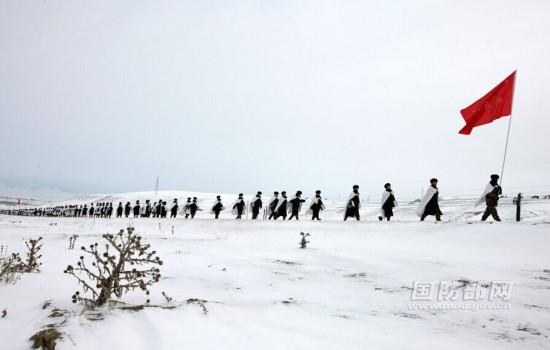 新疆实战零下13度考验新兵