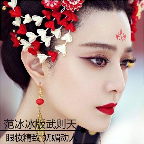武则天范冰冰新剧照 飙演技更飙妆技
