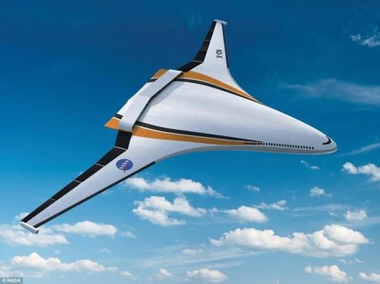 美國宇航局的未來飛機概念設計檔案顯示,各種針狀,圓滑或三角翼