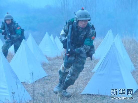 解放军首届国际军校军事项目对抗赛