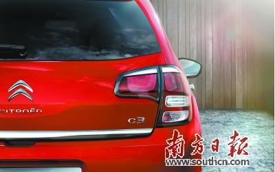 东风雪铁龙首款SUV车型C3 XR 即将上市高清图片
