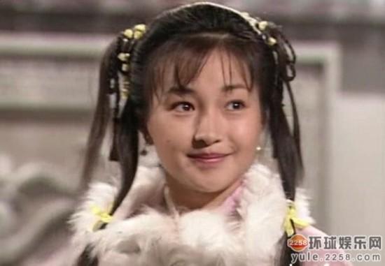 995年古天乐李若彤版神雕 真难为李绮红,当时25岁的年纪一米七