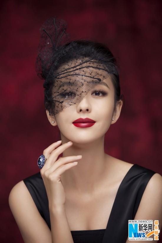 佟丽娅转型优雅甜美成熟风范