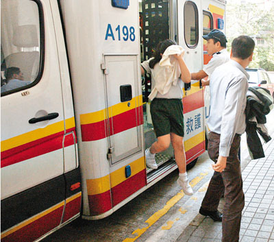 香港女生少女自杀被父母劝止写给冷落被跳楼感到妙龄的话励志图片