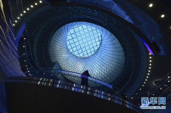日前新建成投入使用的纽约地铁富尔顿换乘中心是纽约市新建最大图片