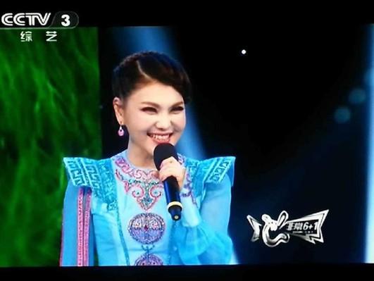 乌兰图雅新歌发布会CCTV3《非常星发布》播出