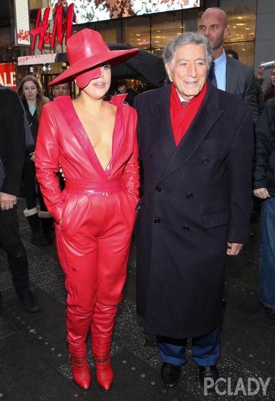 Gaga最抢风头 欧美女星街拍