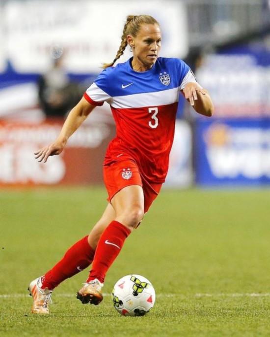 体育画报 评出全球50大最健壮体育女星
