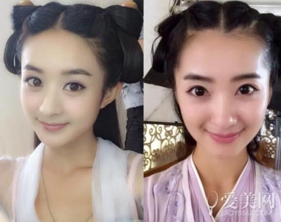 小龙女陈妍希被替身秒杀