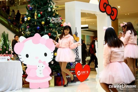 高清:Hello Kitty 40周年全球巡展将在西安举办