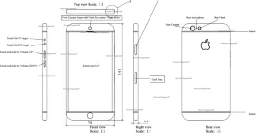 跟Home键有仇很纯洁的iPhone7概念设计命令分割图纸图片