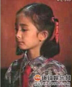 杨幂四岁出道 童年少女时期青涩照大曝光(图)