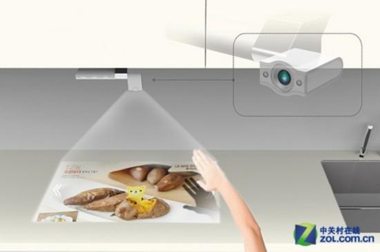 看大片学菜谱 实用性极佳的的厨房电视