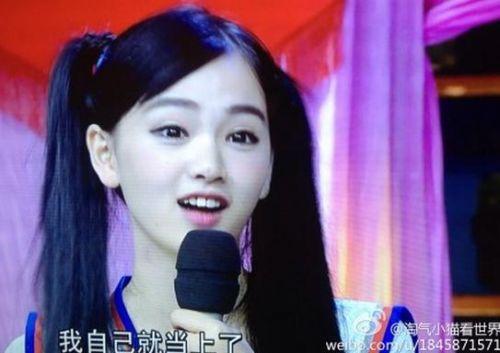 武大女神黄灿灿录制《天天向上》 校园激吻照曝光(图)