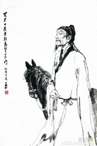 ■蒋兆和 杜甫诗意 雅昌供图