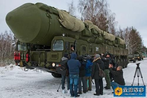 资料图:俄罗斯战略导弹部队