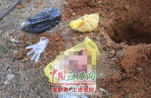 九江開發區一公園內驚現10多具死胎網絡截圖