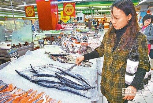 台湾秋刀鱼受大陆人喜爱产量高价格不跌
