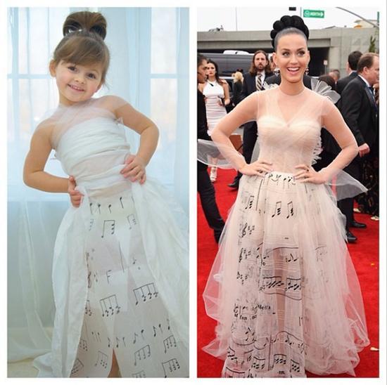 4岁女孩如何成为最年轻时装设计师 时尚