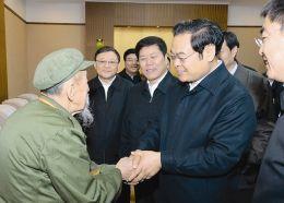 王儒林考察陈廷敬故里 家族38人做官无贪腐
