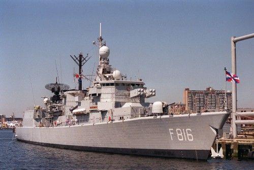阿聯酋土豪將退役護衛艦改成游艇
