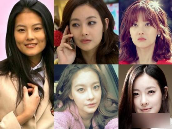 曝韩国女星整容后变化 蔡琳李多海尹恩惠颜值变美