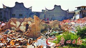 中国那些消失的村庄:陈景润的家乡也被拆光