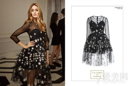 olivia palermo演绎five plus系列礼服