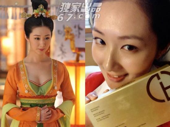 《武媚娘传奇》女星惊悚素颜照PK:张馨予脸黄超周海媚