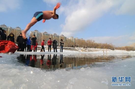 #(社会)(2)挑战冰河展身手
