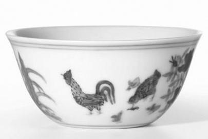明代 成化斗彩鸡缸杯成交价:2.8亿港元