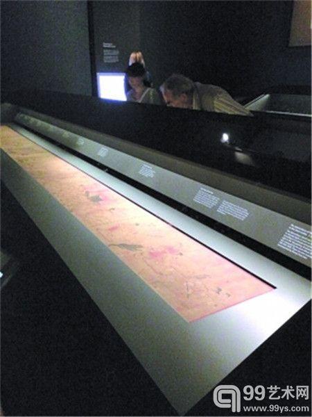大英博物馆《女史箴图》展出现场