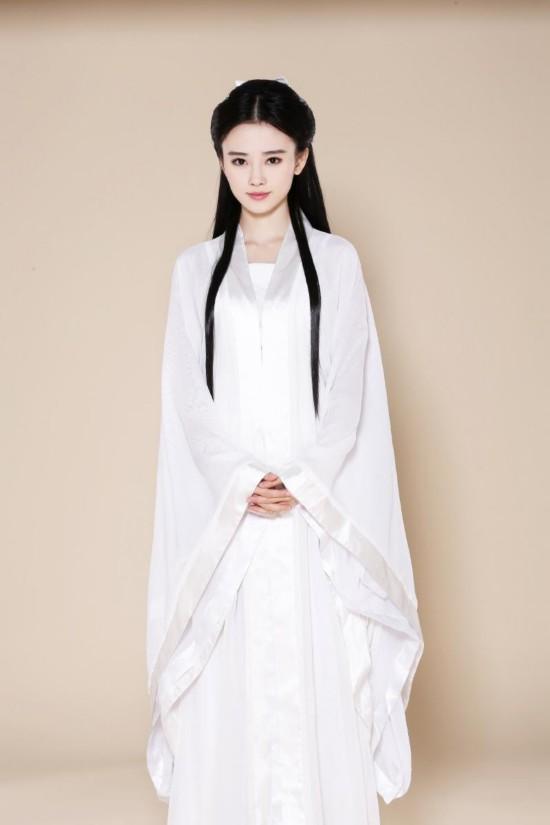 """被日本網友譽為""""四千年第一美女""""鞠婧?扮小龍女"""