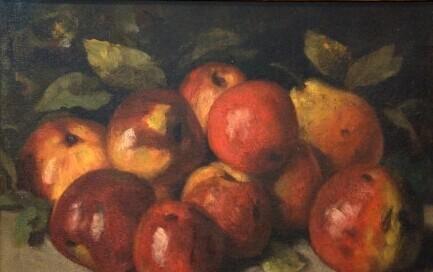送你一个苹果 让艺术伴你平安夜