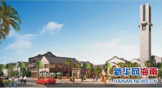 海口演丰招商项目启动 将建琼北特色景区